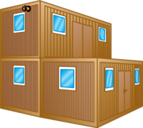 Bürocontainer, Schlafcontainer, Wohncontainer mieten
