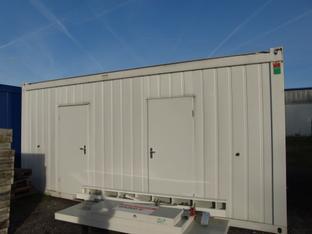 Container Sanitärcontainer  mieten leihen