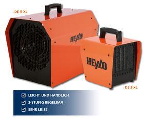 Heizer 9 kW, Heylo  mieten leihen