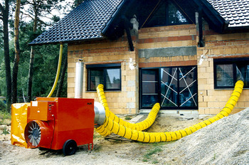 Ölheizer Typ: K 120 / 110 KW    mieten leihen