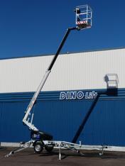 DINO 105TL - eine leichte und vielseitige Arbeitsbühne mieten leihen